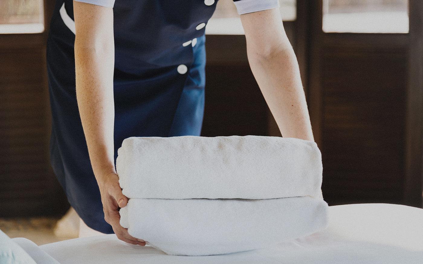 Hotelservice und Reinigung von Hotels und Gastronomie